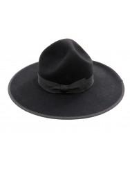 "Hat ""three dents"" with wide brim"