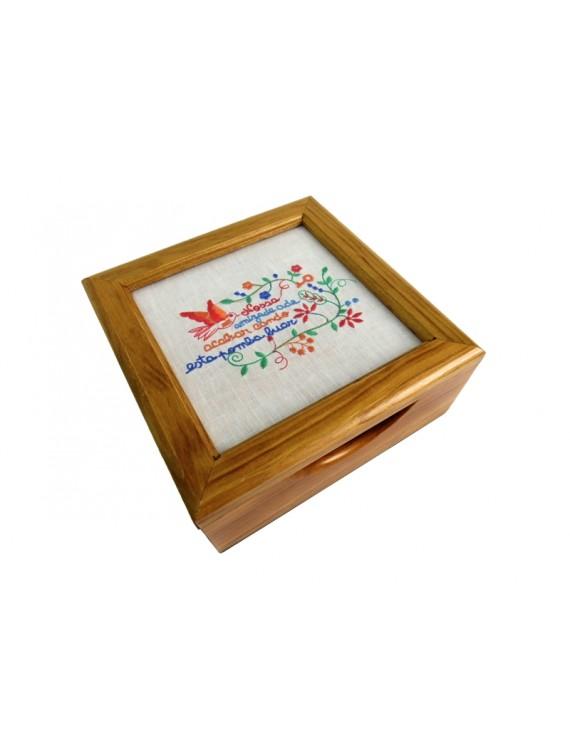 Fiancés wooden box