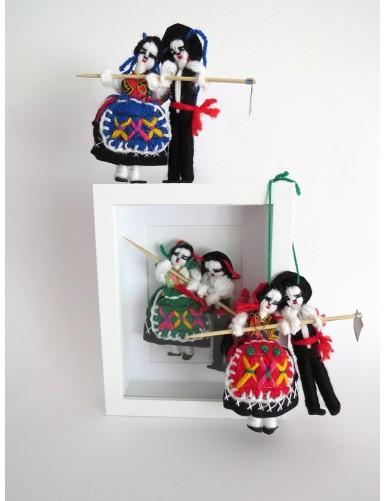 """Couple of dancers """"Manel e Maria"""""""