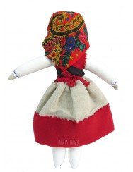 Traditional handmade rag doll