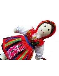 Traditional handmade rag doll
