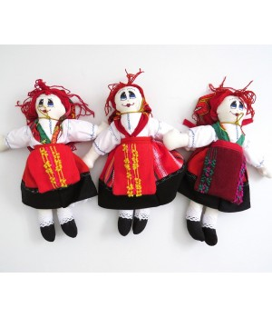 Handmade rag doll from viana