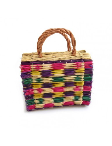 Traditional Portuguese reed basket