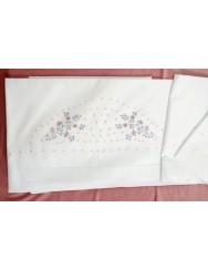 Bed sheets set hand embroidery