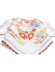 Fiancé handkerchief from Minho - carnation