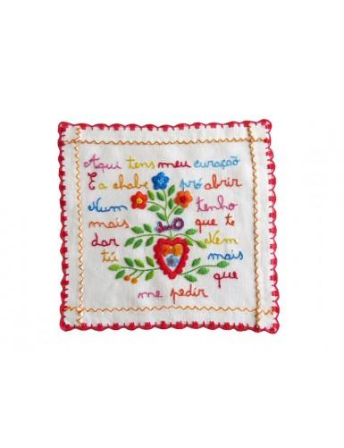 Small valentine handkerchief