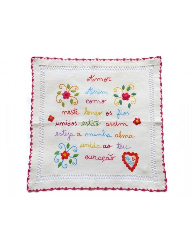 Fiancé handkerchief from Minho - my heart and yours