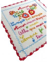 Small valentine handkerchief - heart for heart