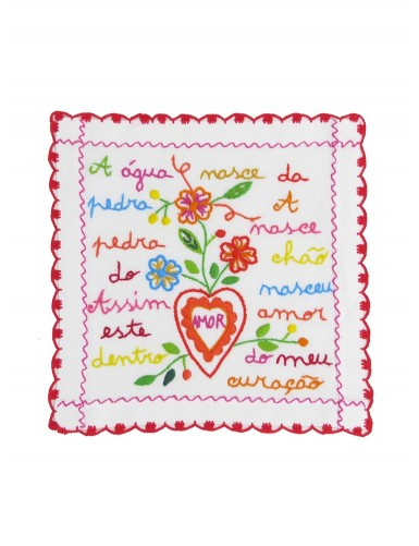 Small valentine handkerchief - the water spring