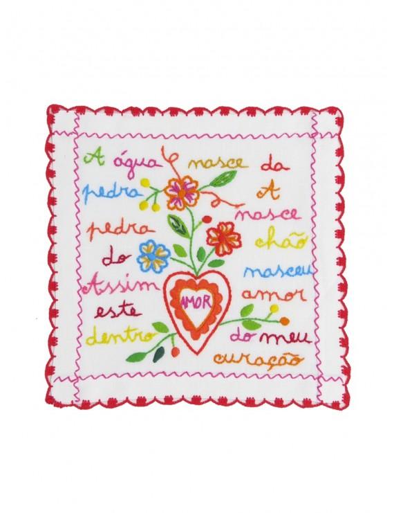 Small valentine handkerchief - the water spring
