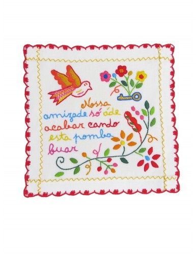 Small valentine handkerchief - our friendship