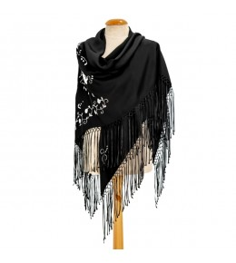 Embroidered shawls from viana