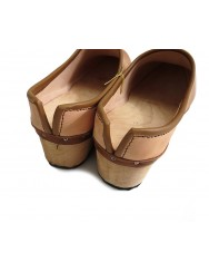 Wooden clogs