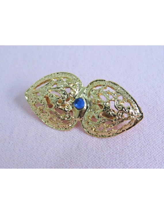 Pin with blue stone