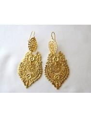 Brincos à Rainha - Queen like earrings