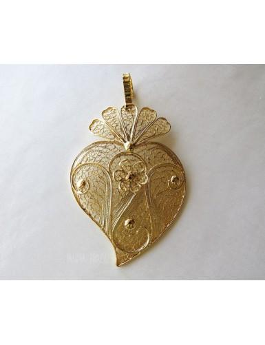 Heart shaped fan