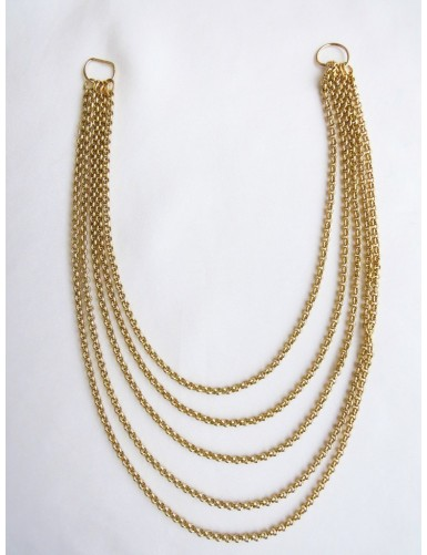 Necklace of five chain