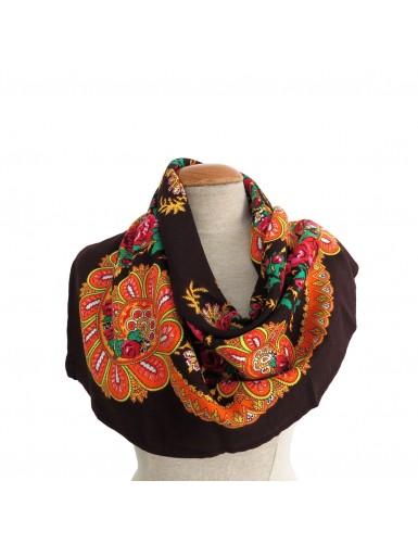 Traditional brown kerchief of Viana