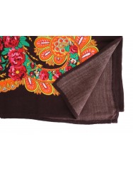 Traditional brown kerchief of Viana