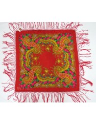 Woolen red kerchief of Viana