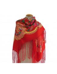 Woollen red kerchief of Viana