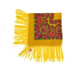 Woolen yellow kerchief