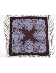 Woolen purple kerchief of Viana