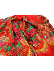 Woollen red kerchief of Viana