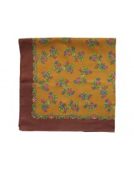 Printed cotton head scarf - multi-colour frame
