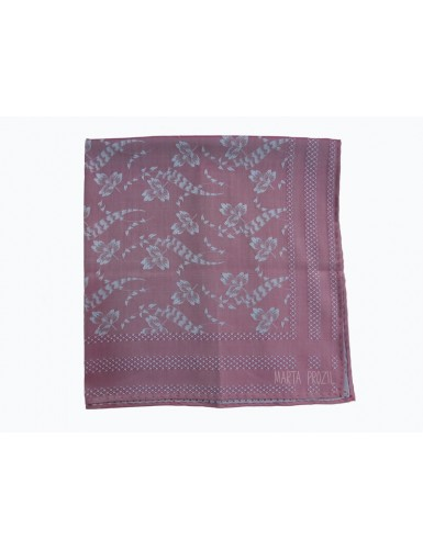 Damask cotton scarf
