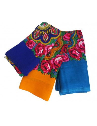 Flower pattern cotton kerchiefs