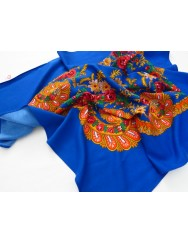 Traditional blue kerchief of Viana