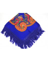 Traditional kerchief with fringes