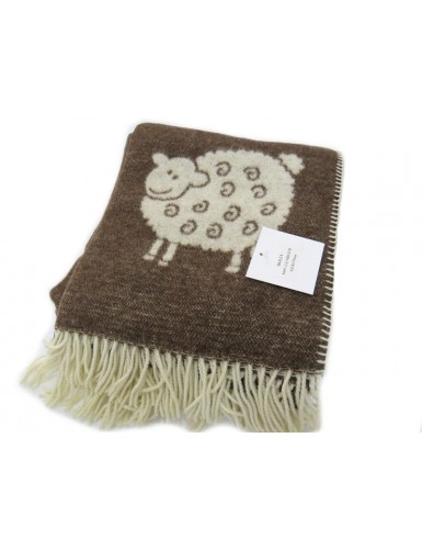 Wool blanket - sheep