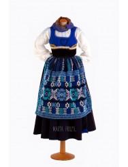 Traditional sunday costume - navy blue