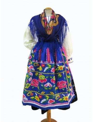 Blue lavradeira costume