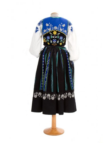 Blue lavradeira costume from Meadela