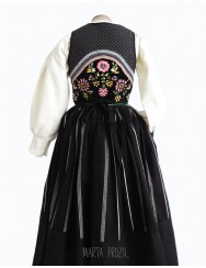 Lavradeira costume - black