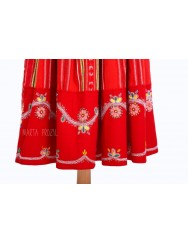 Red lavradeira costume from Areosa