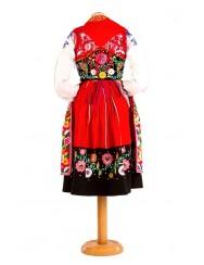Red lavradeira costume