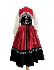 Red lavradeira costume from Medela