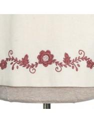 Cloak in wool felt handmade embroidered