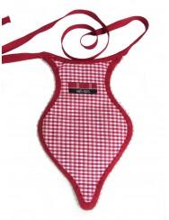Red side pocket or algibeira