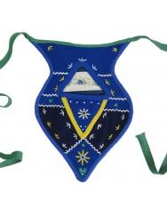 Blue side pocket or algibeira