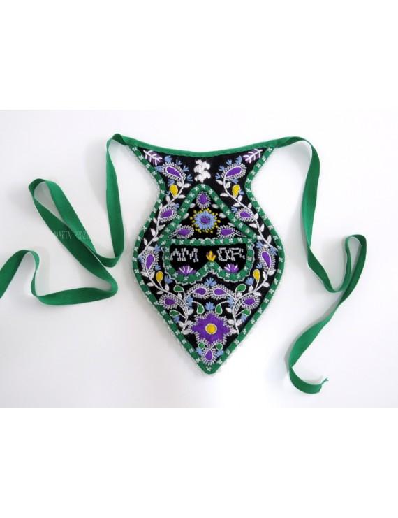 Side pocket or algibeira for lavradeira costume