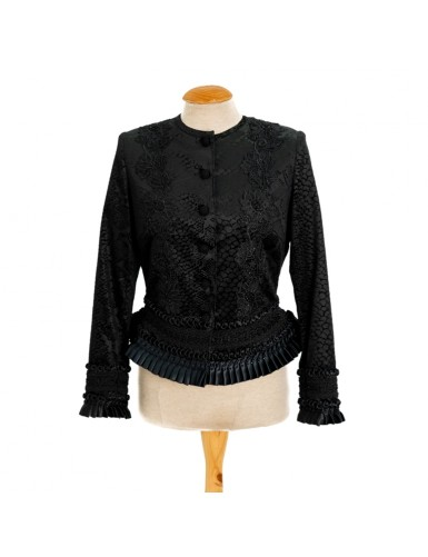 Black mordoma jacket - L