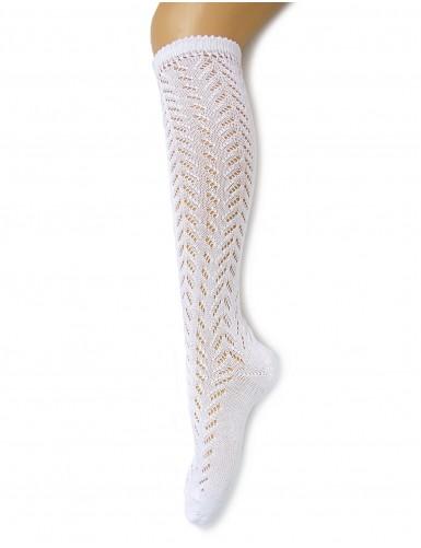 Perle openwork socks