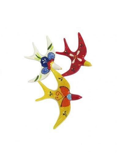 Swallow birds - red june