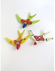 Swallow birds - green may