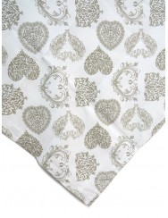 Hearts tablecloth - stain repellent 2.5 M